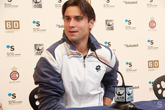David Ferrer en rueda de prensa (BancoSabadell) Tags: barcelona banco atp tennis tenis banc sabadell godo barcelonaopenbancsabadell bcnopenbs2012