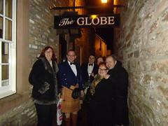 Group Outside The Globe (cessna152towser) Tags: kilt dumfries