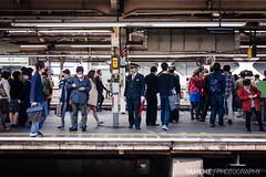 Railway Snap / Tokyo, Japan (yameme) Tags: travel japan train tokyo shinjuku sony evil jr   alpha   yamanoteline nex   streetsnap mirrorless emount nex6