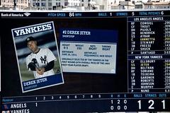 2014-04-26 NY Bronx Angels vs Yankees 8 - Derek Jeter Baseball Card (LBS Images) Tags: nyc ny baseball bronx yankees yankeestadium jeter derekjeter