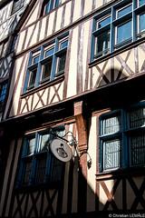 Vieux Rouen / Old town of Rouen - France (christian_lemale) Tags: house france nikon rouen maison halftimbered vieux colombages pansdebois d7100