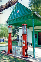 Vintage Gas Pumps, Buffalo Gap Historic Village (StevenM_61) Tags: museum vintage texas antique gasstation historical gaspumps buffalogap