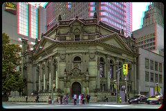 Toronto's Hockey Hall Of Fame 3-D ::: HDR/Raw Anaglyph Stereoscopy (Stereotron) Tags: urban toronto ontario canada architecture america radio canon eos stereoscopic stereophoto stereophotography 3d downtown raw control north citylife streetphotography kitlens twin anaglyph financialdistrict stereo stereoview to remote spatial 1855mm hdr province redgreen tdot 3dglasses hdri transmitter stereoscopy synch anaglyphic optimized in threedimensional hogtown stereo3d thequeencity cr2 stereophotograph anabuilder thebigsmoke synchron redcyan 3rddimension 3dimage tonemapping 3dphoto 550d torontonian stereophotomaker 3dstereo 3dpicture anaglyph3d yongnuo stereotron