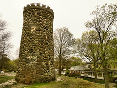 Derelict (iluvgadgets) Tags: green abandoned grass squirrel bricks derelict turret medford watchtower 52weeksofphotography giveusyourbestshot 522016week19