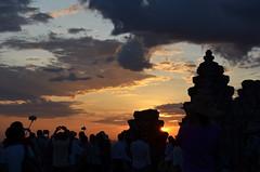 AK_PhnomBakheng_19 (chiang_benjamin) Tags: sunset sky tower clouds temple cambodia angkorwat phnombakheng