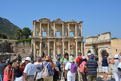 Library of Celcus-Ephesus, Turkey (andyteach) Tags: ephesus ephesusturkey libraryofcelsus celsuslibraryephesus libraryofcelsusephesus ancientlibraryephesusturkey