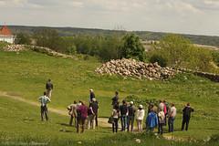 Ruins of Navahrudak Castle (Natali Antonovich) Tags: portrait history lifestyle tourists belarus spectators oldest travelers oldworld oldtime romanticism novogrudok navahrudak motherlandbelarus ruinsofnavahrudakcastle
