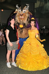 Beauty and the Beast in DCA (GMLSKIS) Tags: disney california amusementpark anaheim dca belle beauty beast princess