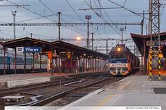 460.010-2 | Os3304 | tra 270 | Perov (jirka.zapalka) Tags: train czech cd os prerov stanice rada460 trat270