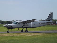 N102AN Cessna Caravan 208 (Aircaft @ Gloucestershire Airport By James) Tags: james airport gloucestershire caravan cessna lloyds 208 n102an egbj