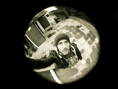 Selfie Fisheye (Fotografa con Smartphones) Tags: fisheeye selfie smartphones fotografiaconsmartphones alexwojciechowski wochilandya samsunggalaxys7edge sepia