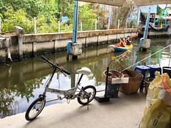 Bangkok, Thailand (Quench Your Eyes) Tags: travel bike bicycle thailand asia southeastasia bangkok thai bicyclist biketour floatingmarket samutprakan bangnamphuengfloatingmarket