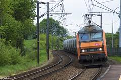BB26106 - Train 73639 Bobigny>Rennes (Alan Jaffr) Tags: train rennes sncf bobigny bton crales bb26000 73639 bb26106