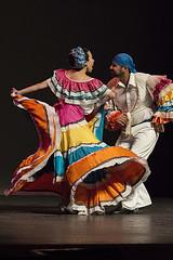 Carnaval de Sinaloa - El Toro Mambo (Josue Martinez Photography) Tags: pink blue orange man girl yellow azul mexico dance nikon rosa folklore amarillo naranja baile sinaloa tipico folclor d3200