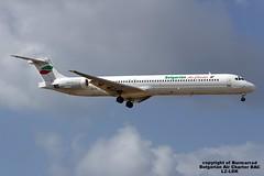 LZ-LDK LMML 04-05-2016 (Burmarrad) Tags: cn aircraft air airline douglas registration charter bac mcdonnell bulgarian md82 lmml lzldk 49432 04052016