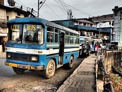 Kohima - City Bus (sharko333) Tags: voyage street travel bus asia asien transport olympus asie indien reise kohima nagaland em1