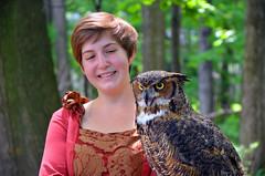 DSC_3603 (hellotristan) Tags: girls birds festival nikon hawk fair medieval owl lamb prey renaissance nikonphotography nikond7000