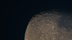 Moon Shot #9 (Mark B Hewitt) Tags: moon nikon inch space 8 hobby telescope astrophotography adapter tele hobbies lunar interest pastime dobsonian d610