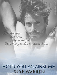 HoldYouAgainstMe1 (Warhawke's Vault) Tags: blue watercolor shirtlessmale bookreview bookquote bookteaser warhawkesvault skyewarren holdyouagainstme