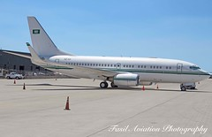Royal Saudi Air Force Boeing 737-7DP(BBJ)  HZ-101 (MSN007) Tags: airplane airport iad force aircraft air jet royal saudi boeing airways airlines 700 airliner 737 kiad hz101 7377dpbbj