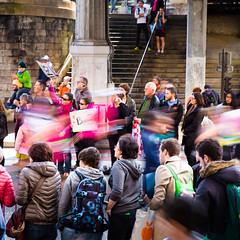 Parisian ghosts (Zeeyolq Photography) Tags: people paris france ledefrance marathon ghost running supporter parisian paris16earrondissement