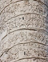Trajan's Column (Sharaz Jek) Tags: italy rome roma italia romanempire trajanscolumn dacianwars travelphotography emperortrajan romanarmy romantriumphalcolumn dacianarmy