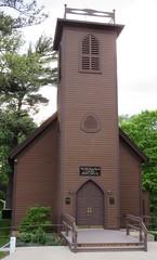 Little Brown Church in the Vale (Nashua, Iowa) (courthouselover) Tags: churches iowa ia roadsideamerica nashua chickasawcounty
