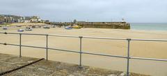 Fence - St:Ives Harbor (Chris Scopes) Tags: sea fence harbor seaside sand nikon stives hff d610
