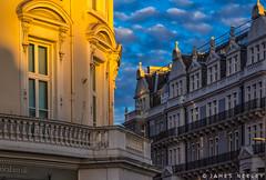 Urban Alpenglow (James Neeley) Tags: london kensington jamesneeley