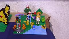 Ash and company (andresignatius) Tags: chile lego pokémon moc chilelug