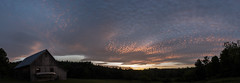 Sunset Series 1/3 (koperajoe) Tags: sunset sky weather clouds mackerel twilight newengland climate cirrocumulus westernmassachusetts altocumulus clouddeck