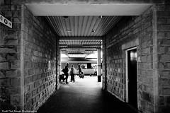 Sheffield Railway Station (Rich Presswood) Tags: street people urban blackandwhite bw monochrome architecture buildings mono availablelight sheffield streetphotography railwaystation agfascala decisivemoment olympuspenf adobelightroom flickrsbest vsco zuiko918mmf456 findtherangephotography