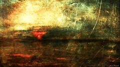Impression du Couchant (jeanfenechpictures) Tags: mer sea impressionisme impressionism soleil sun nuages clouds colors couchant setting sunset soleilcouchant peinture painting horizon