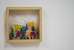 Bosque (Francocacola) Tags: casa sobre roca franco cazzola bosque vidrio papel dibujo draw arboles