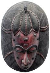10Y_0892 (Kachile) Tags: art mask african tribal côtedivoire primitive ivorycoast gouro baoulé nativebaoulémasksaremainlyanthropomorphicmeaningtheydepicthumanfacestypicallytheyarenarrowandfemininelookingincomparisontomasksofotherethnicitiesoftenfeaturenohairatallbaouléfacemasksaremostlyadornedwithvarioustrad