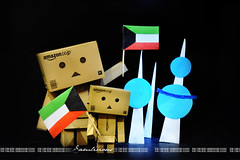 11B /365 Happy Kuwaiti National Day (Samlicious) Tags: flag celebration cardboard national kuwait february celebrate kuwaiti q8 nationalday abraj danbo kuwaitflag 25feb abrajalkuwait danboard kuwaitnationalday minidanbo 25kuwait26