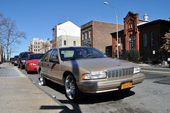 (Laser Burners) Tags: nyc newyorkcity classic chevrolet church brooklyn sedan chrome 1991 rims caprice donk citynoise