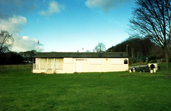 Meanwood CC (Saturated Imagery) Tags: film rollei 35mm iso200 retro german pavilion praktica otley meanwood filmslr vivitar28mmf25 epsonv500 prakticatl5b rolleidigibasecn200 meanwoodcc unmaskfilm