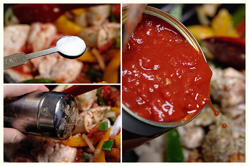 Creamy Chicken Peperonata