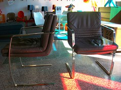 Pace Leather + Chrome Steel Chairs (Mod Livin') Tags: modern vintage design furniture retro 1950s danish 1960s 1970s eames georgenelson hermanmiller knoll saarinen midcentury danishmodern scandinaviandesign