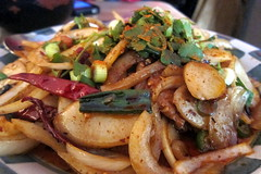 San Francisco - Mission District: Mission Chinese Food - Thrice Cooked Bacon