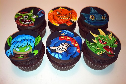 Flickriver Photoset Skylanders Cupcakes by death by cupcake