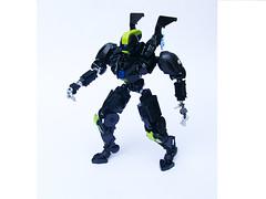 A.R.I.E.L. (updated shoulder connection) (Gatanui) Tags: lego bionicle mecha