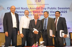 Conference on Tamil Nadu Vision 2025 was held in Chennai on 8th March 2012 (C.I.I.) Tags: k n ranganath ciitn mrttashok mrrdineshmr mrbmuthuraman
