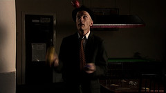 Tony the juggler