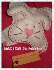 Coelhinho Segura Recados (miudezas_miudezas) Tags: pscoa coelho portarecados