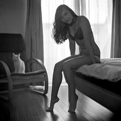 My Little Oxie: 2012 (Mike Postnov) Tags: guangzhou china bw woman 6x6 film girl beauty lady cat nude square blackwhite kodak feminine 150 hasselblad 10023 28 russian xtol sonnar baltar baushlomb 202fa mikepostnov
