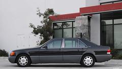 Euro 1992 600SEL (mojocoggo) Tags: usa dylan grey mercedes benz market euro 1992 leff v12 imported w140 lwb m120 600sel mojocoggo