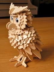 Finished (JulianClementson) Tags: wooden construction puzzle owl kit plywood oswald professorpuzzle