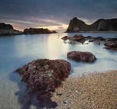 Back Door Of Durdle Door (Mr F1) Tags: longexposure sunset beach bay dusk cove le dorset manowar durdledoor jurassiccoast johnfanning